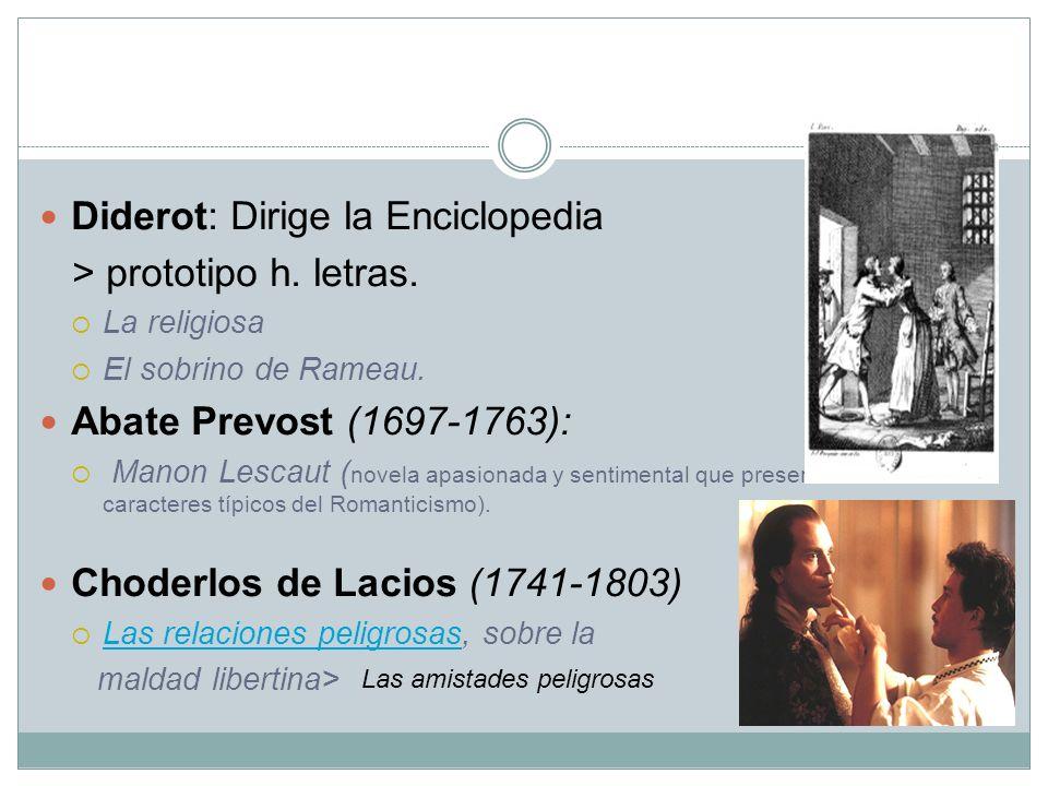 Diderot: Dirige la Enciclopedia > prototipo h. letras.