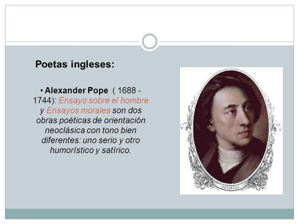 Poetas ingleses: