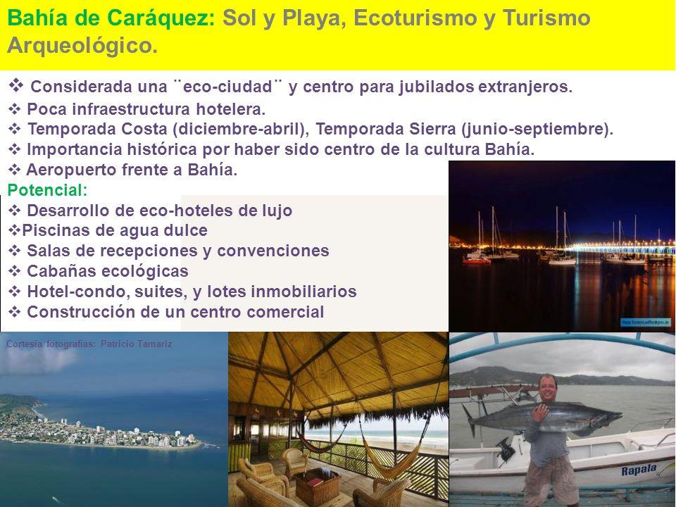 Bahía de Caráquez: Sol y Playa, Ecoturismo y Turismo Arqueológico.