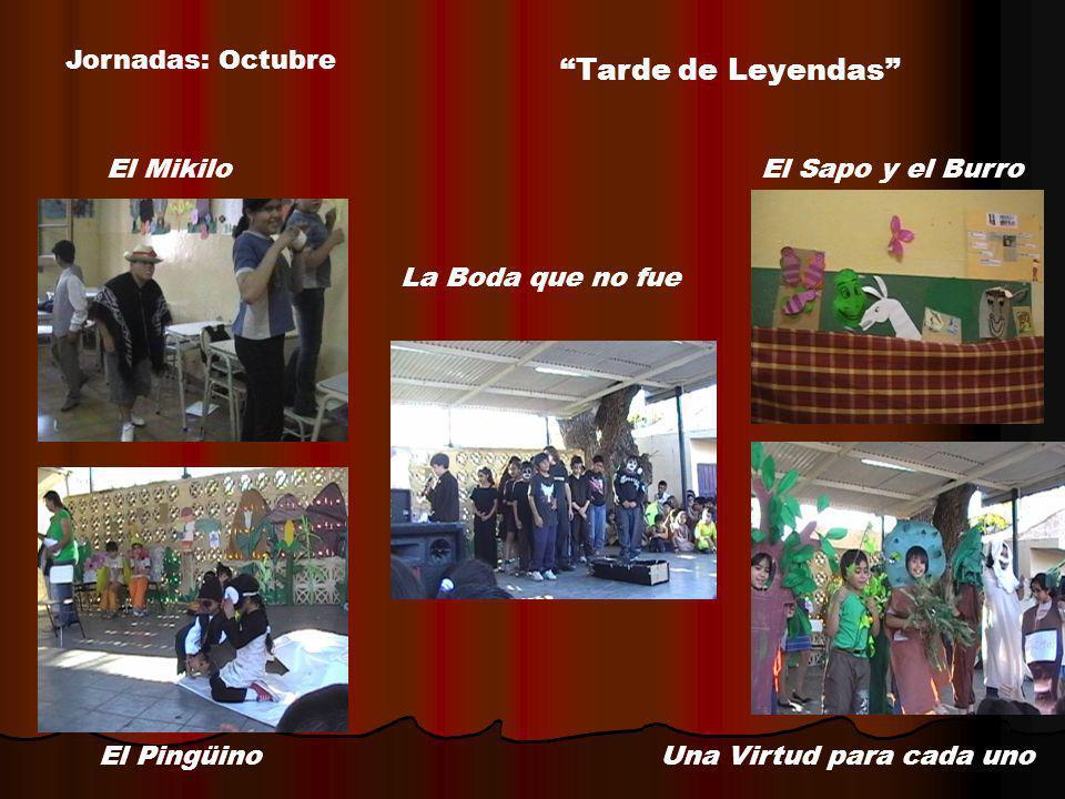 Tarde de Leyendas Jornadas: Octubre El Mikilo El Sapo y el Burro