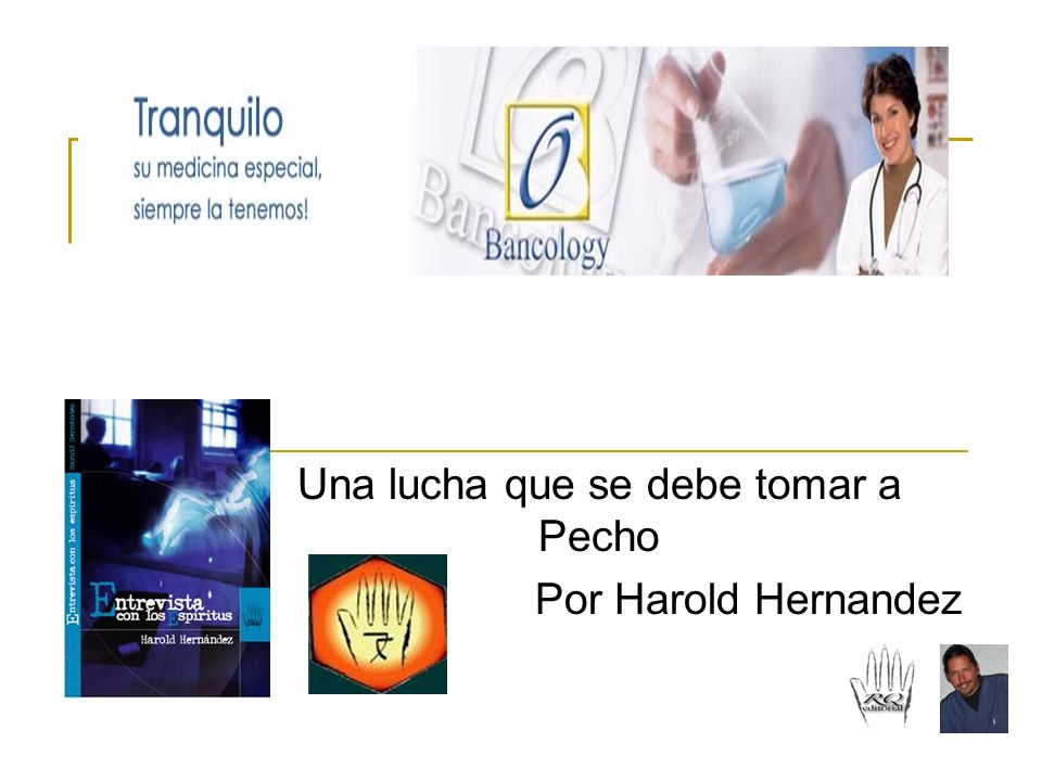 Una lucha que se debe tomar a Pecho Por Harold Hernandez