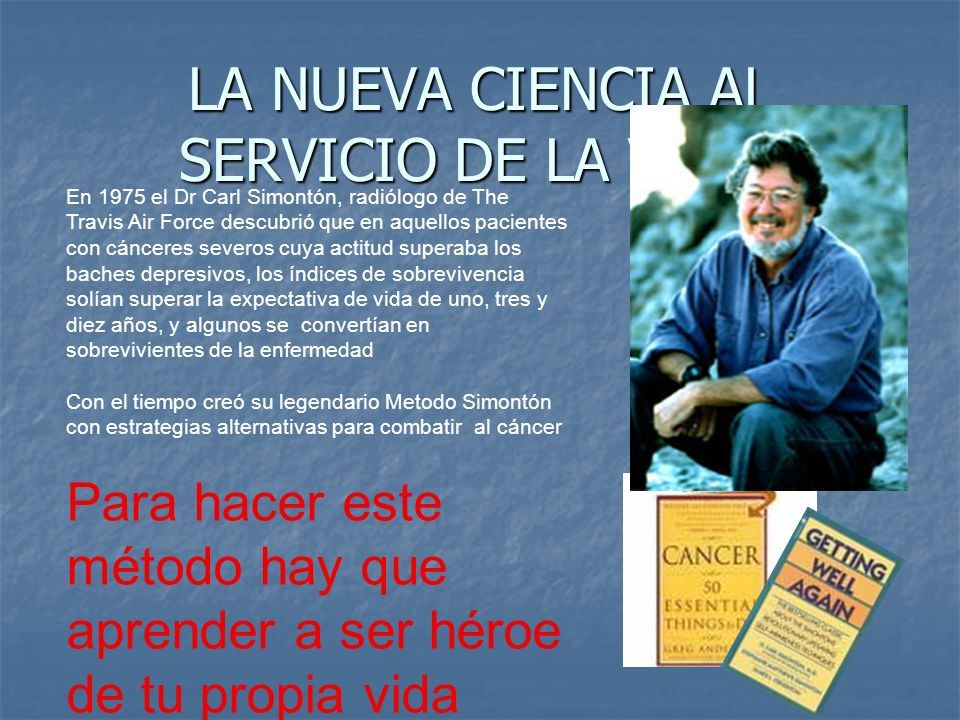 LA NUEVA CIENCIA AL SERVICIO DE LA VIDA: