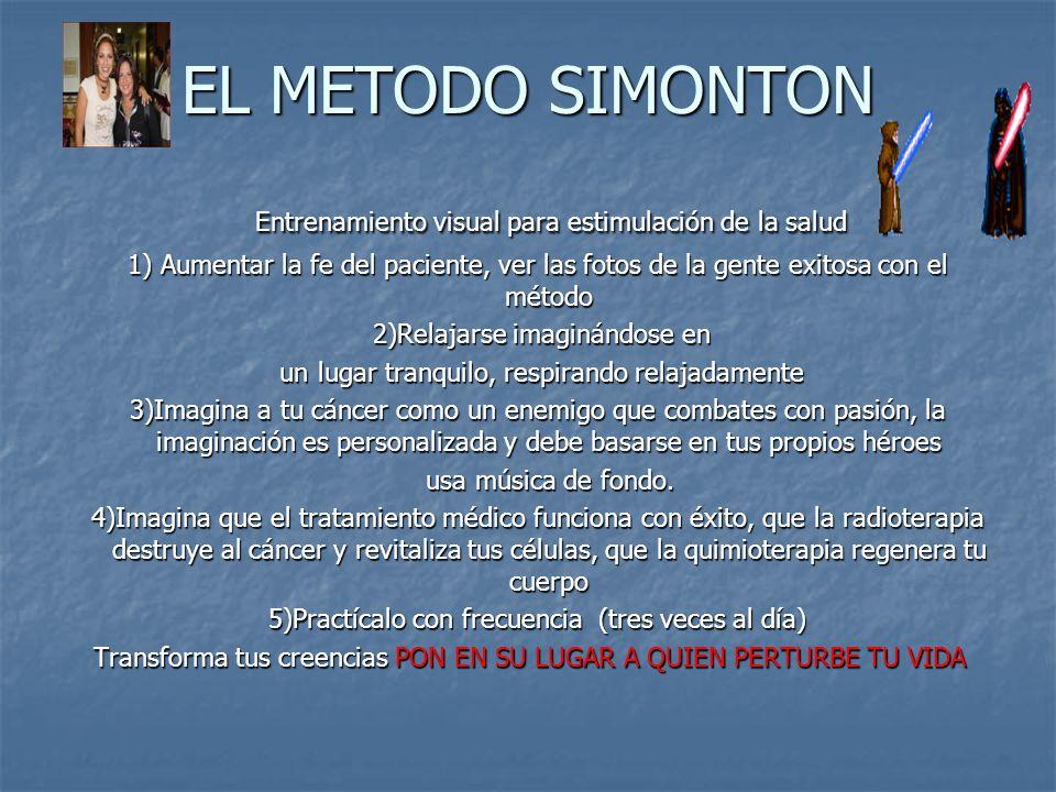 EL METODO SIMONTON Entrenamiento visual para estimulación de la salud