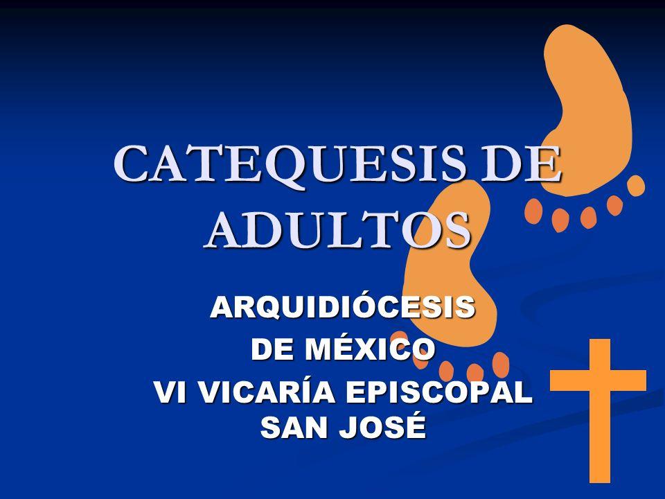 ARQUIDIÓCESIS DE MÉXICO VI VICARÍA EPISCOPAL SAN JOSÉ