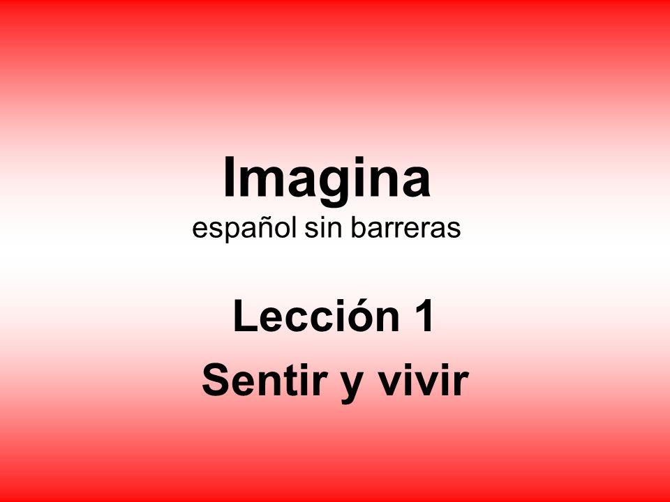 Imagina español sin barreras