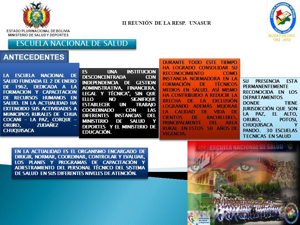 ESCUELA NACIONAL DE SALUD
