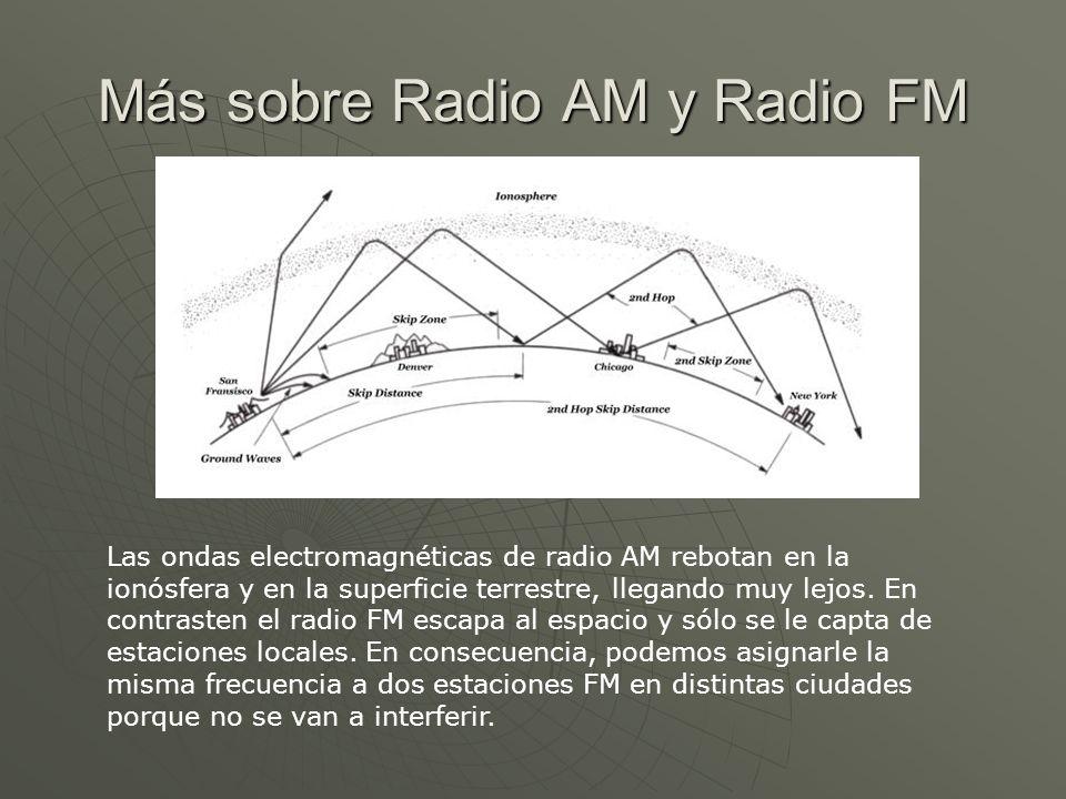 Más sobre Radio AM y Radio FM