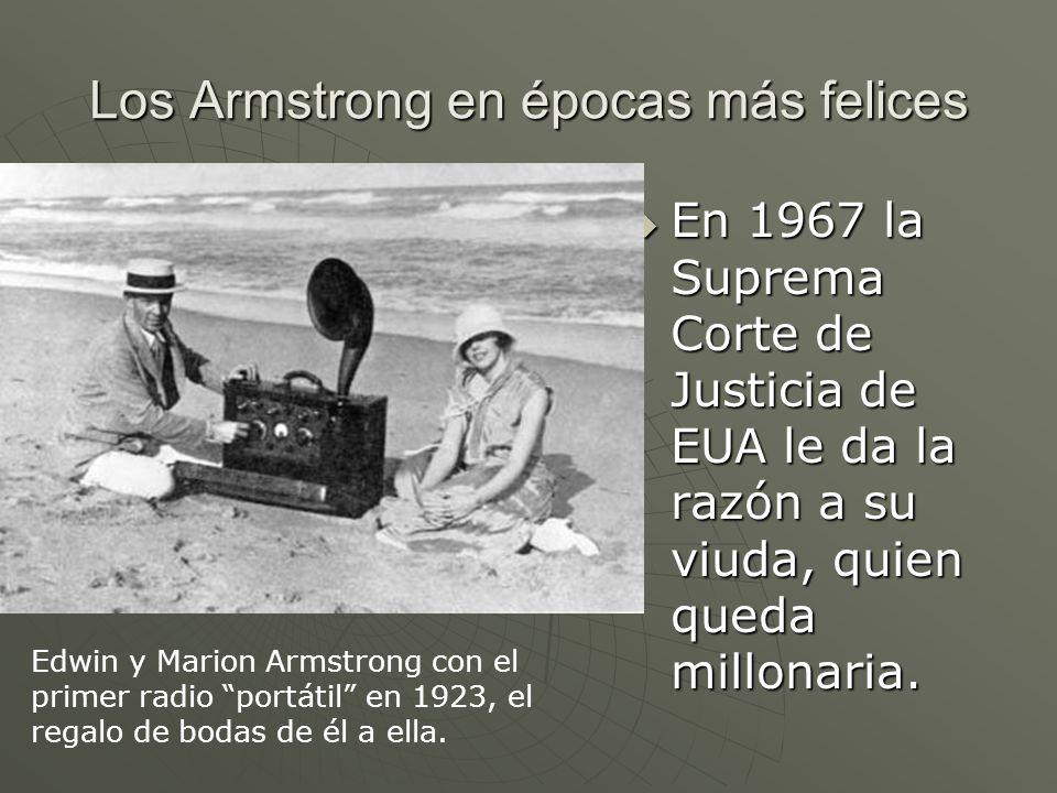 Los Armstrong en épocas más felices