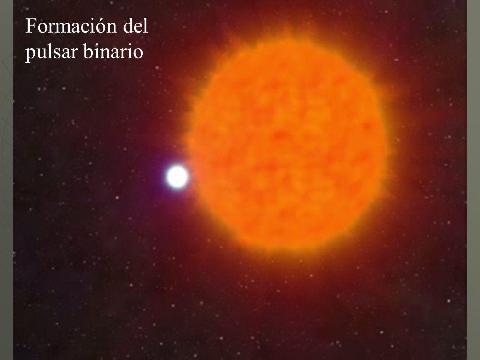 Formación del pulsar binario