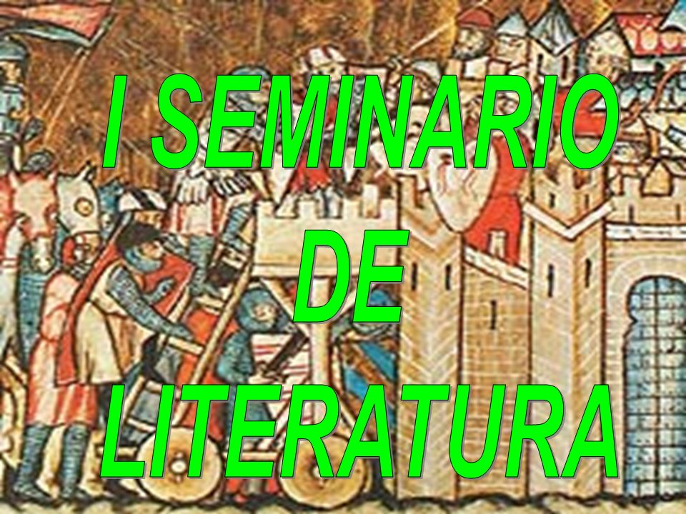 I SEMINARIO DE LITERATURA