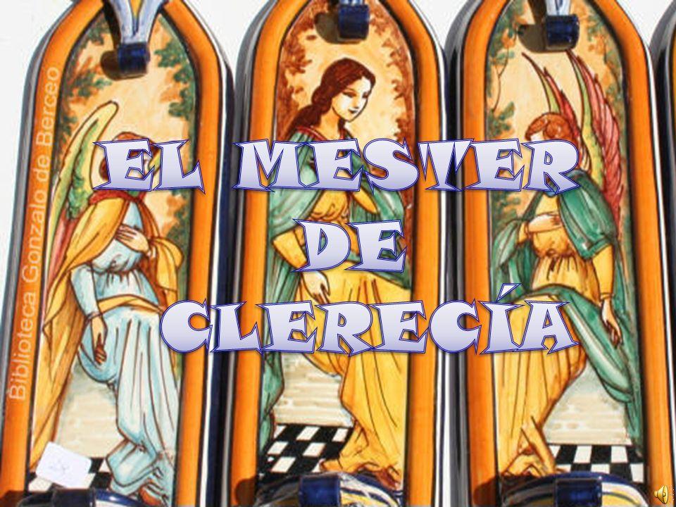 EL MESTER DE CLERECÍA