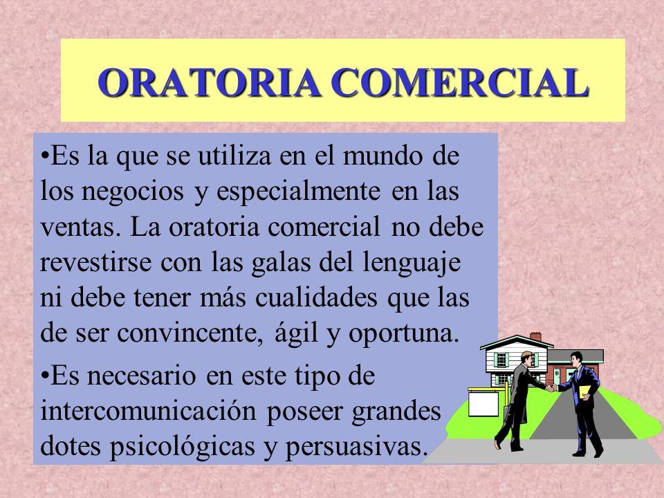 ORATORIA COMERCIAL