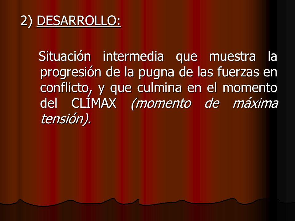 2) DESARROLLO: