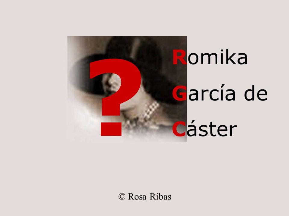 Romika García de Cáster © Rosa Ribas