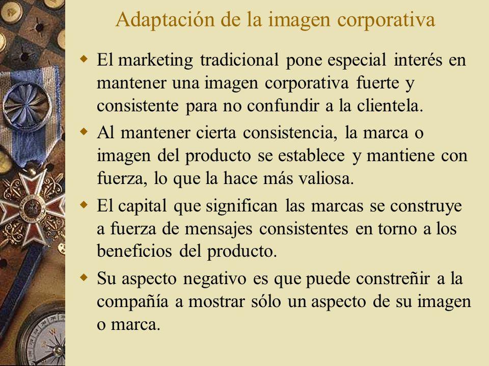 Adaptación de la imagen corporativa