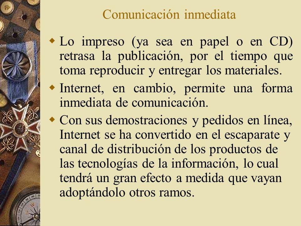 Comunicación inmediata