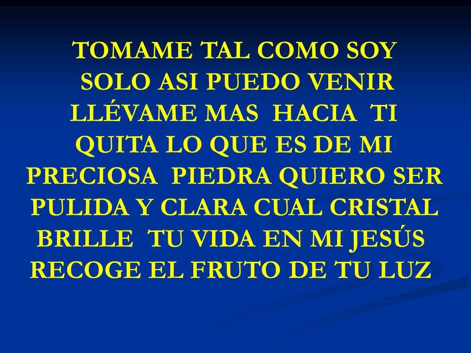BRILLE TU VIDA EN MI JESÚS