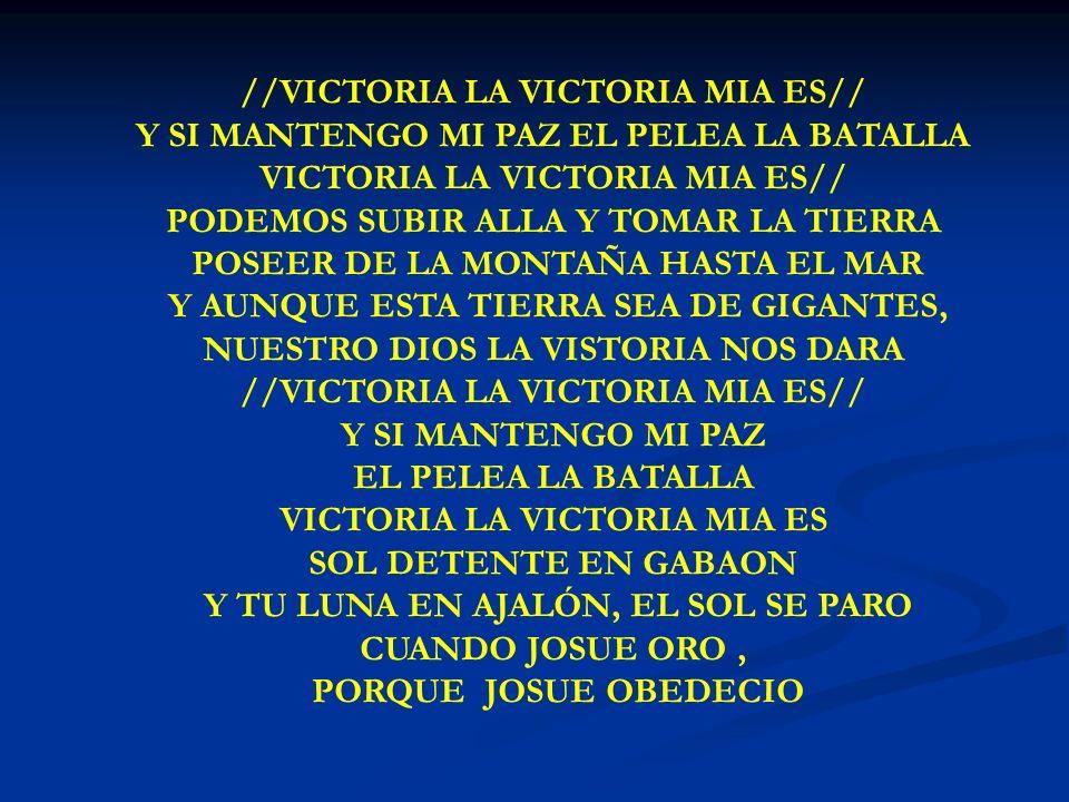VICTORIA LA VICTORIA MIA ES