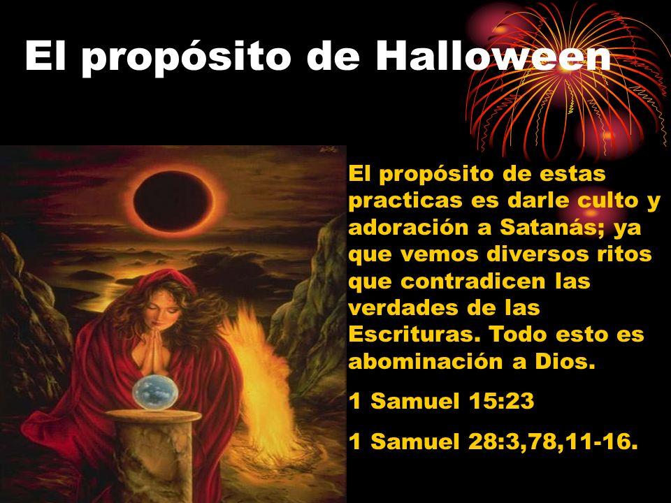 El propósito de Halloween