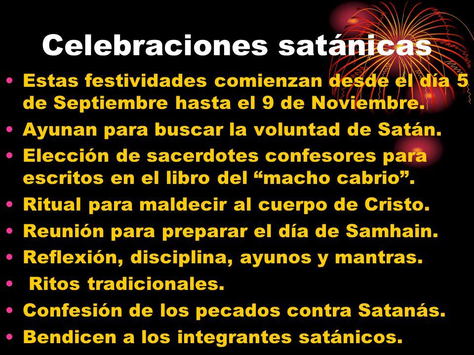 Celebraciones satánicas