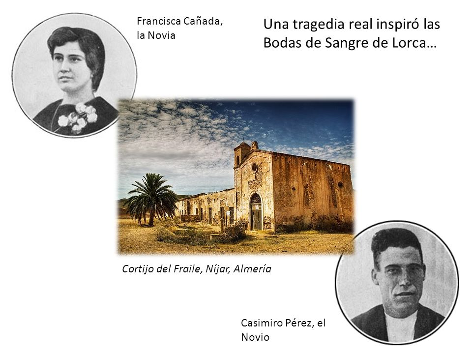 Una tragedia real inspiró las Bodas de Sangre de Lorca…