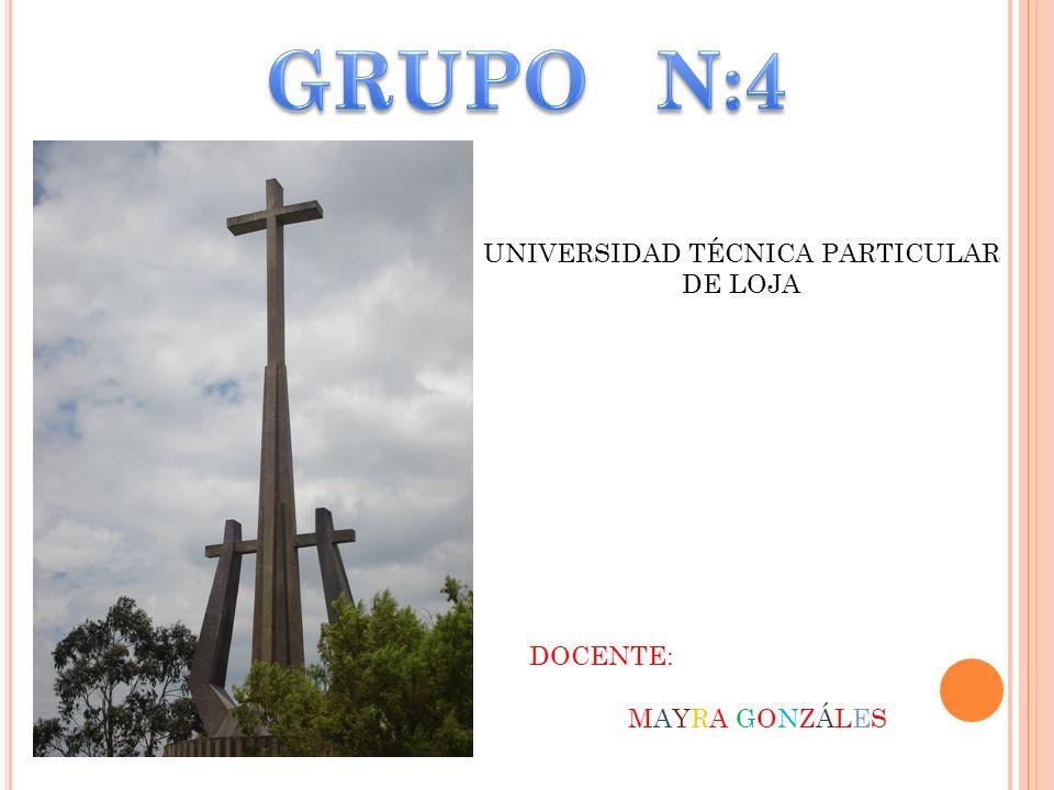 UNIVERSIDAD TÉCNICA PARTICULAR