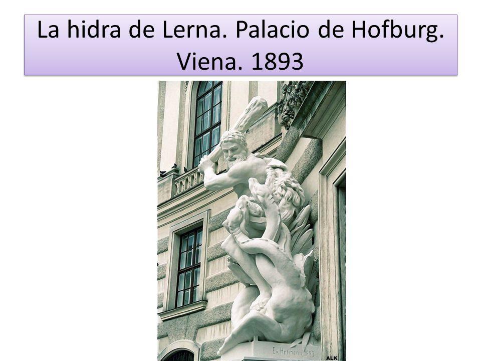 La hidra de Lerna. Palacio de Hofburg. Viena. 1893