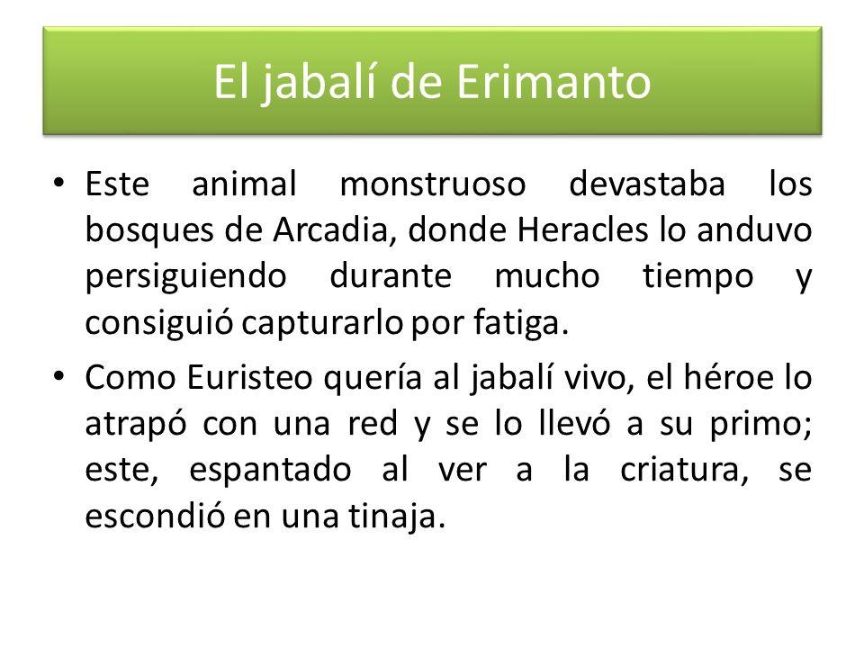 El jabalí de Erimanto