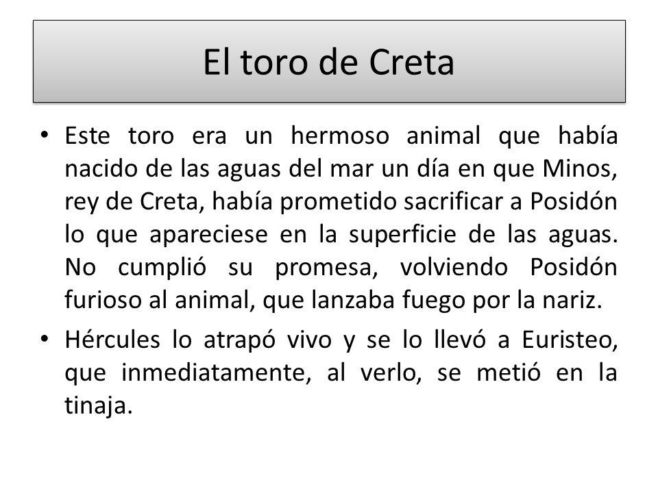 El toro de Creta