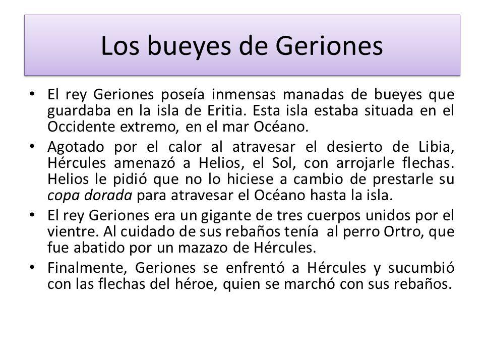 Los bueyes de Geriones