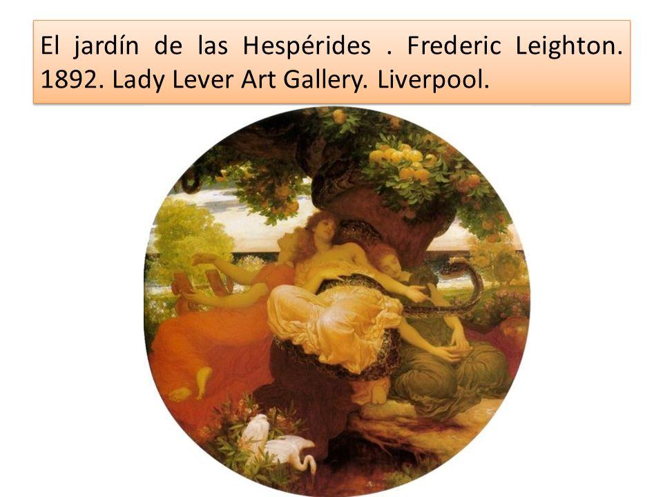 El jardín de las Hespérides. Frederic Leighton. 1892