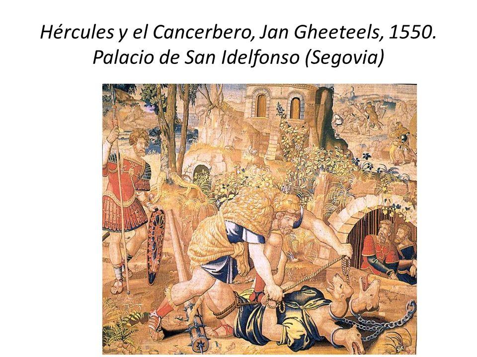 Hércules y el Cancerbero, Jan Gheeteels, 1550