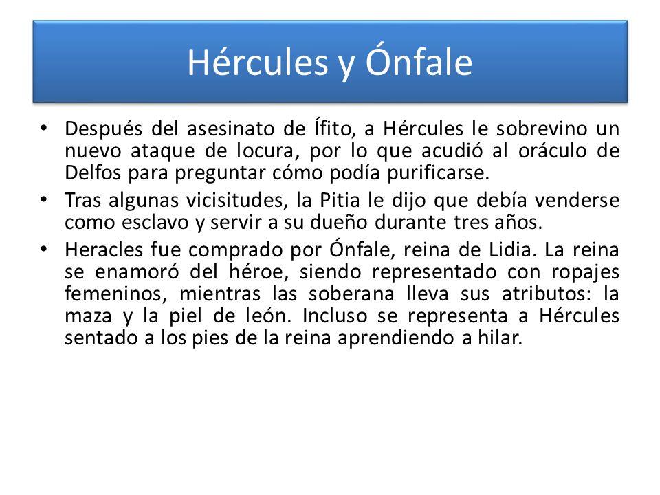 Hércules y Ónfale