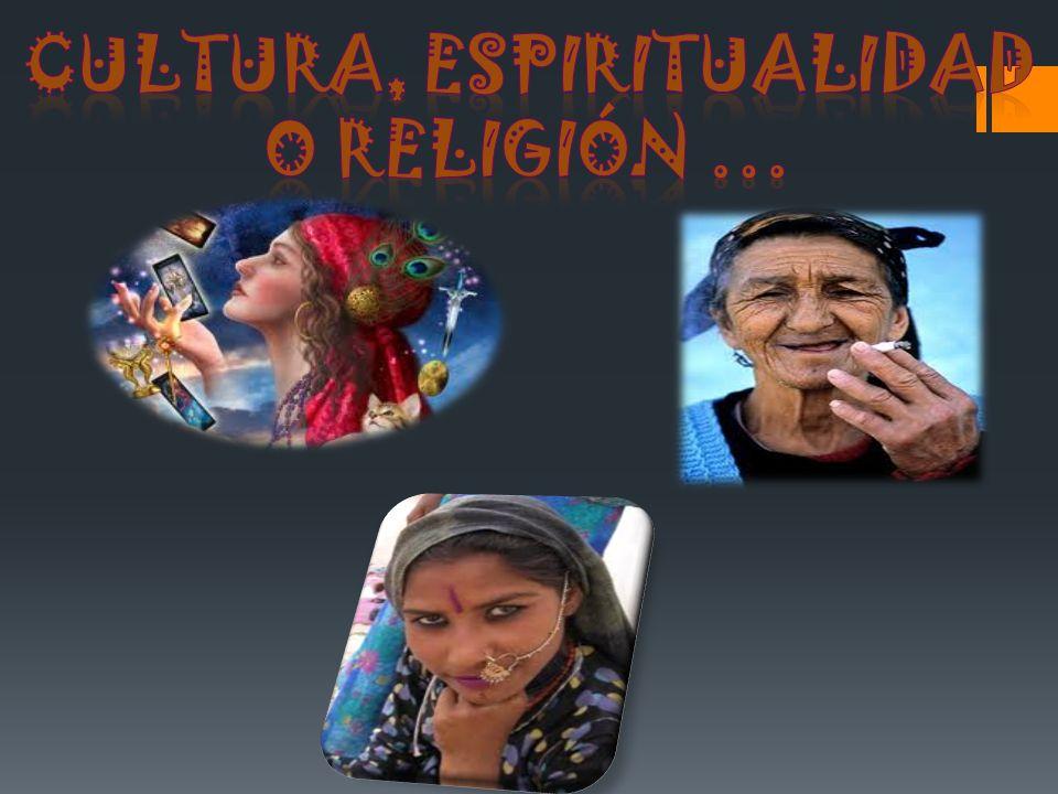 CULTURA, ESPIRITUALIDAD