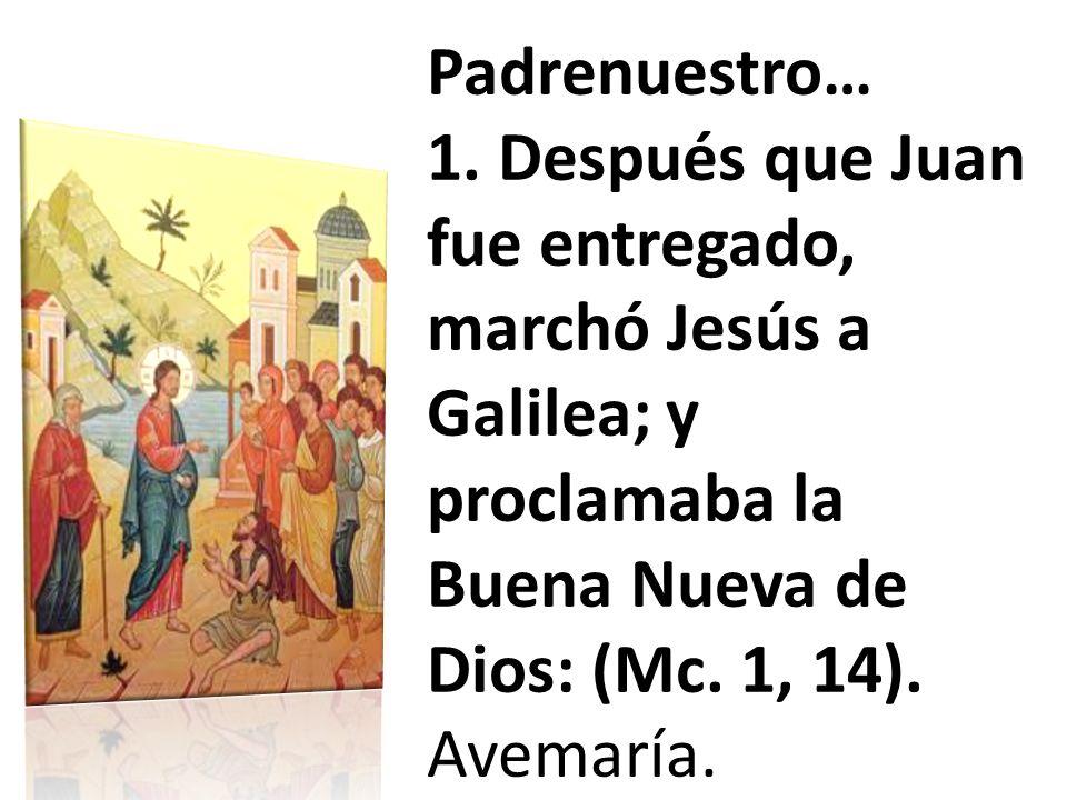 Padrenuestro… 1.