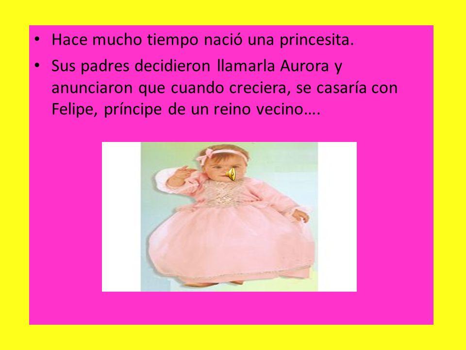 Hace mucho tiempo nació una princesita.