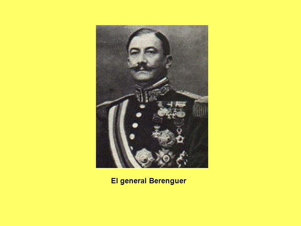 El general Berenguer