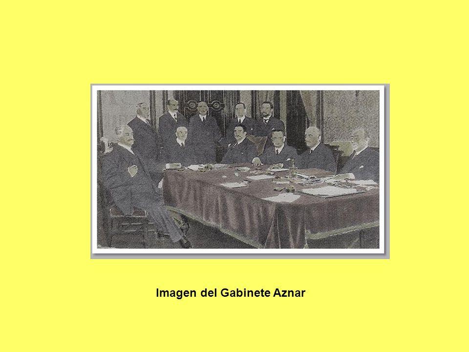 Imagen del Gabinete Aznar