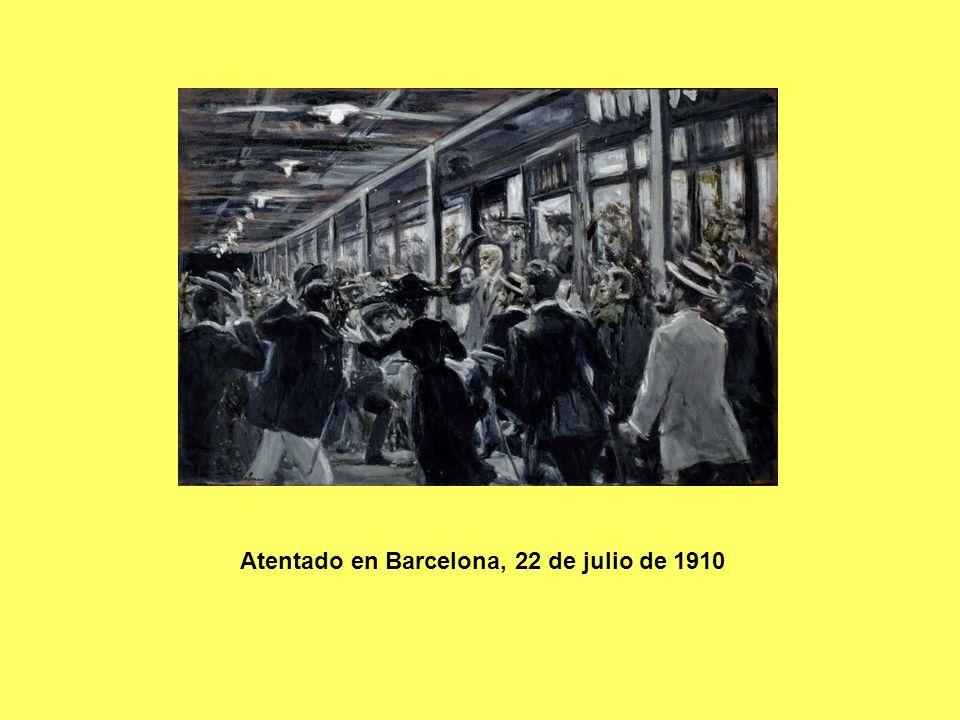 Atentado en Barcelona, 22 de julio de 1910