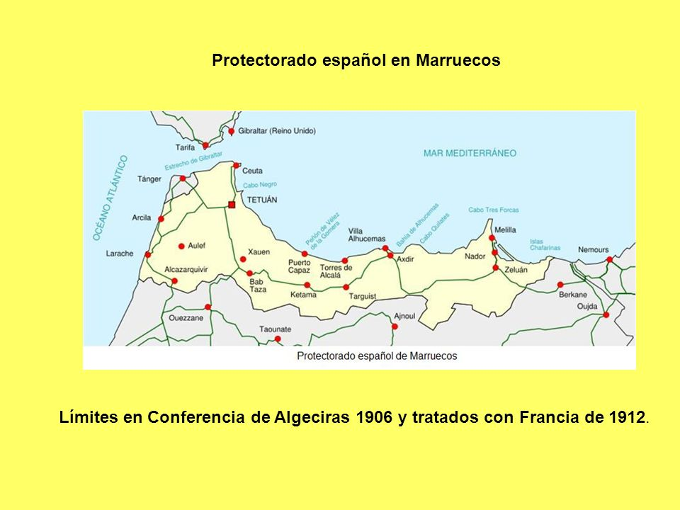 Protectorado español en Marruecos