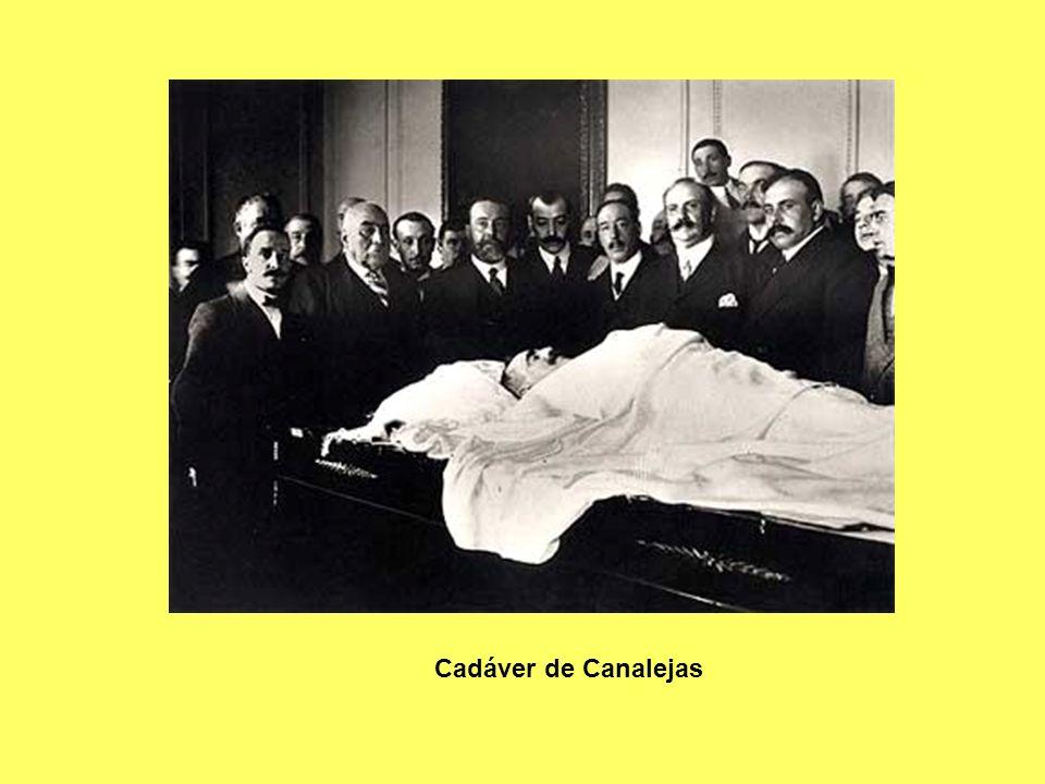 Cadáver de Canalejas
