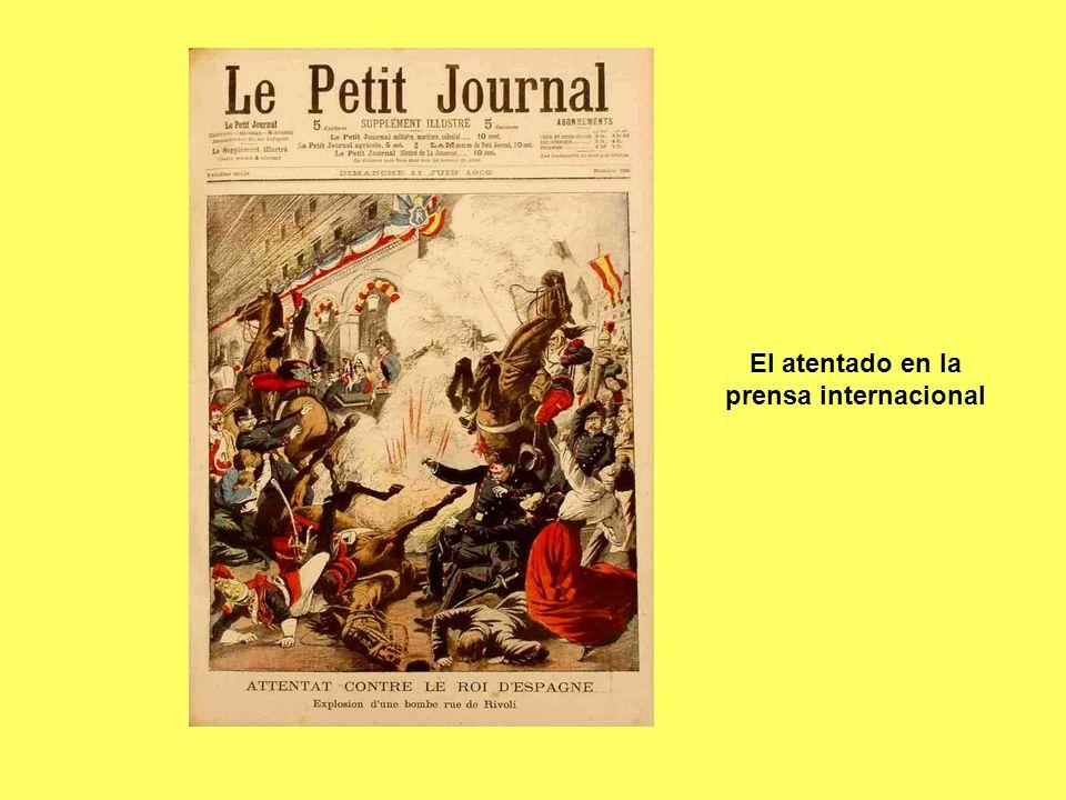 El atentado en la prensa internacional