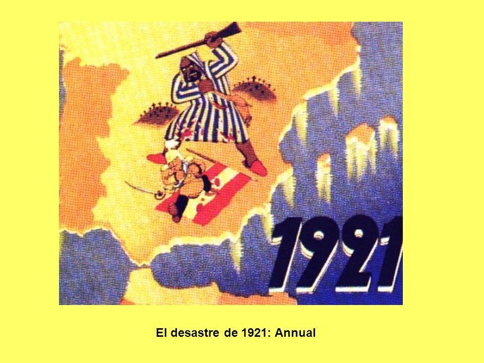 El desastre de 1921: Annual