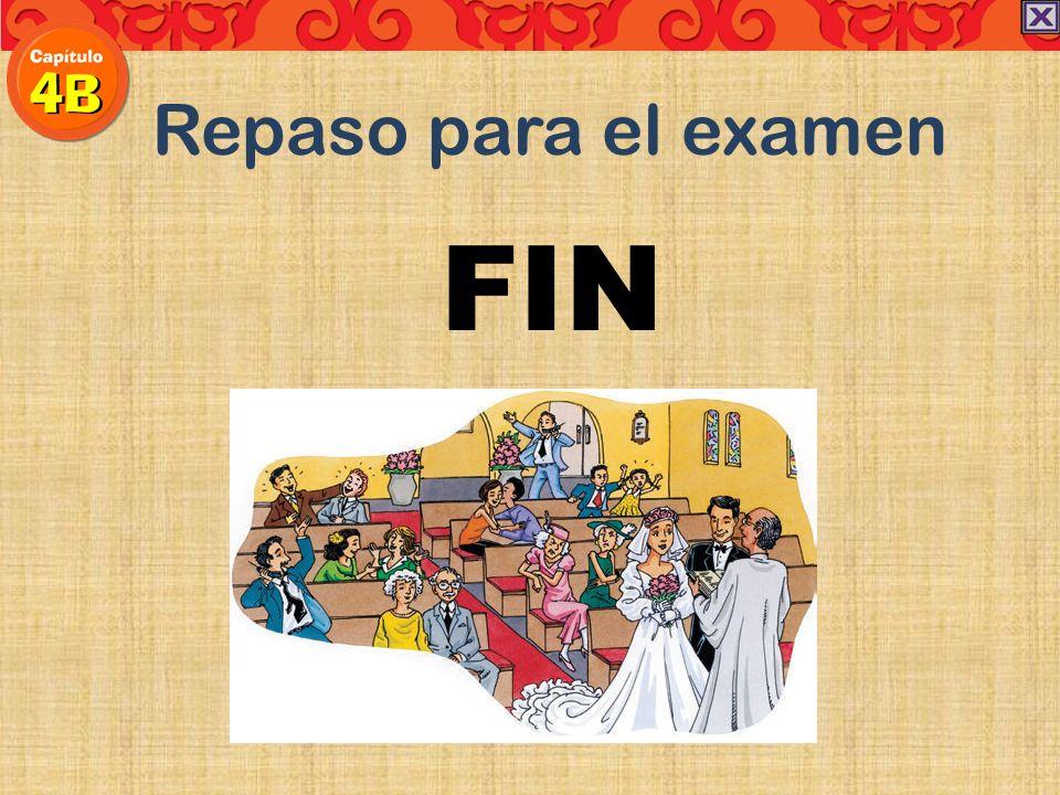 Repaso para el examen FIN