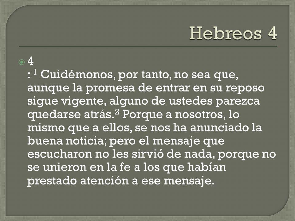 Hebreos 4
