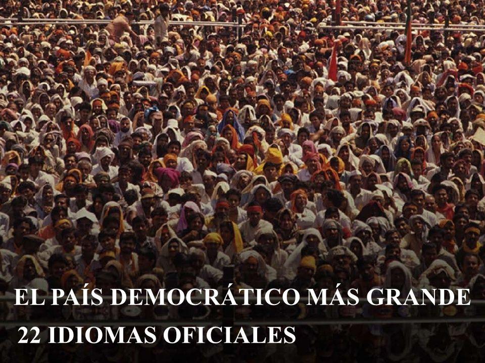 EL PAÍS DEMOCRÁTICO MÁS GRANDE