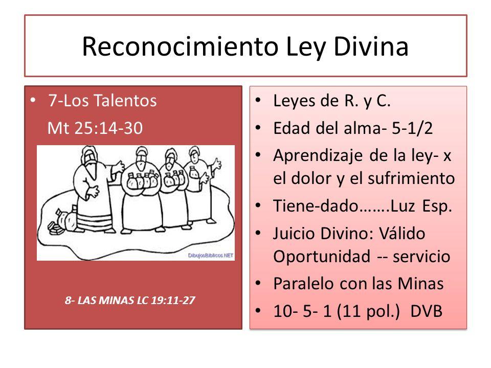 Reconocimiento Ley Divina