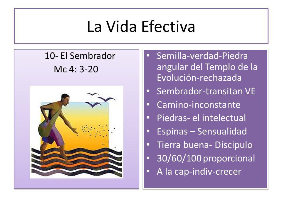La Vida Efectiva 10- El Sembrador Mc 4: 3-20