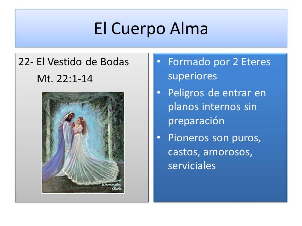 El Cuerpo Alma 22- El Vestido de Bodas Mt. 22:1-14