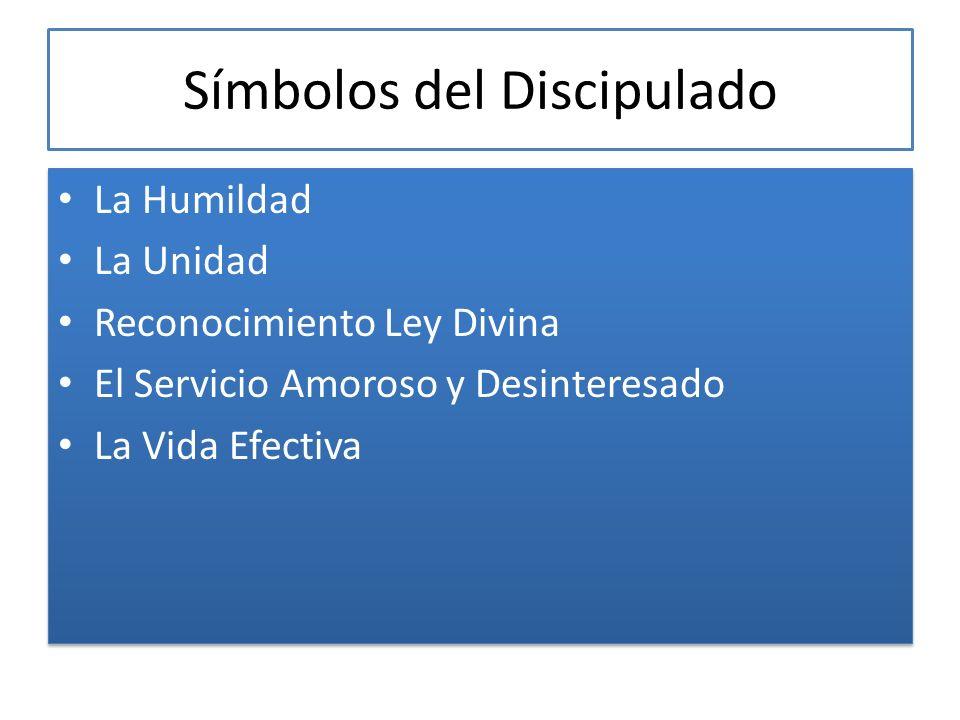 Símbolos del Discipulado